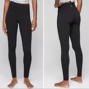 Athleta Black Chaturanga Leggings Tall Size